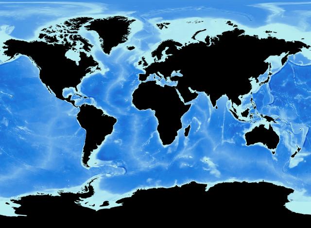 海底起伏マップ