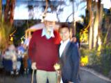 2007年 ESRIユーザー会にて Roger F. Tomlinson 氏と