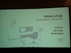 History of GIS The Foundations:1940 to 1975
