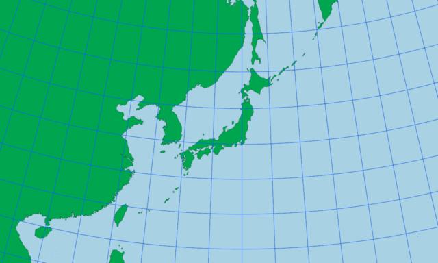 ランベルト正角円錐図法