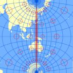 横メルカトル図法